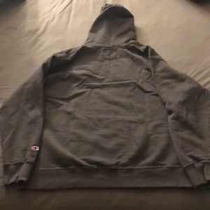 Champion Shirts - Men's Black and Grey Champion Hoodies